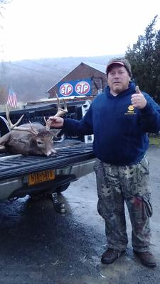 Ed Robinson and his 8 point