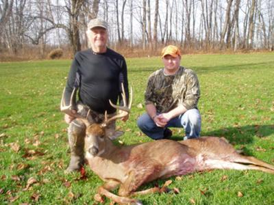 dad and i ... great hunt