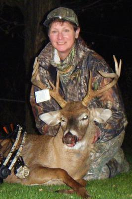 First Cross Bow Buck 11/4/2014