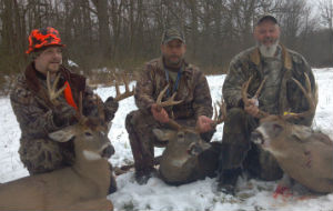Kevin, Chuck and Terry Krisher